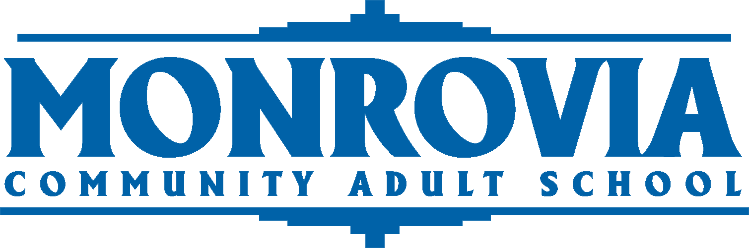 Monrovia Adult School logo