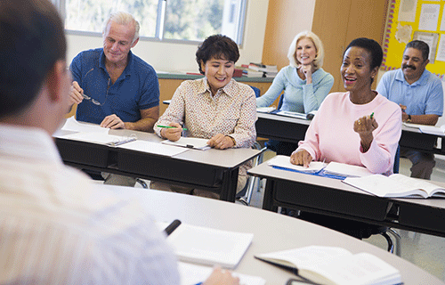 Image of students in a classroom